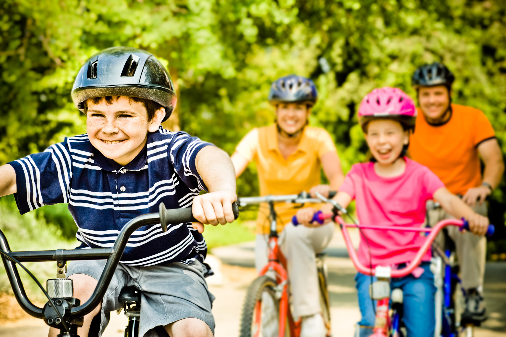 Los Angeles Photographer | Dana Hursey Photography | Healthcare Photography | Family Bike Ride