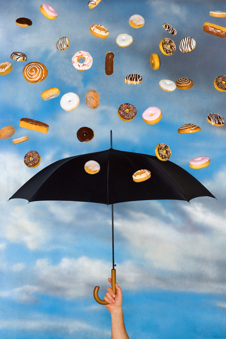Los Angeles Photographer | Dana Hursey Photography | Conceptual Photography | Magritte Umbrella