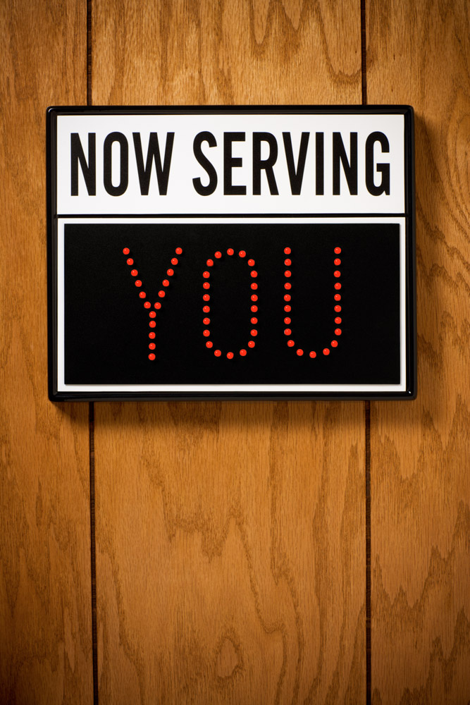 Now Serving You