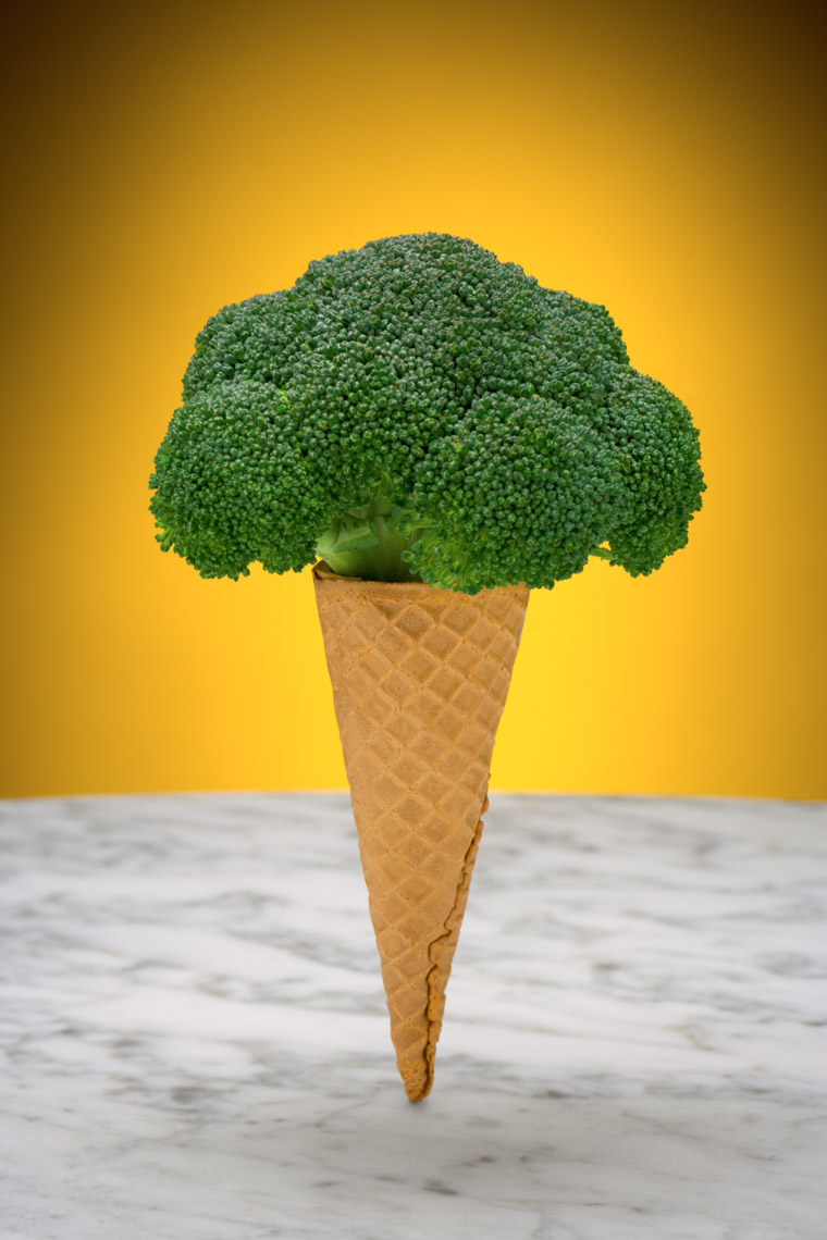 Los Angeles Photographer | Dana Hursey Photography | Conceptual Photography | Broccoli Cone