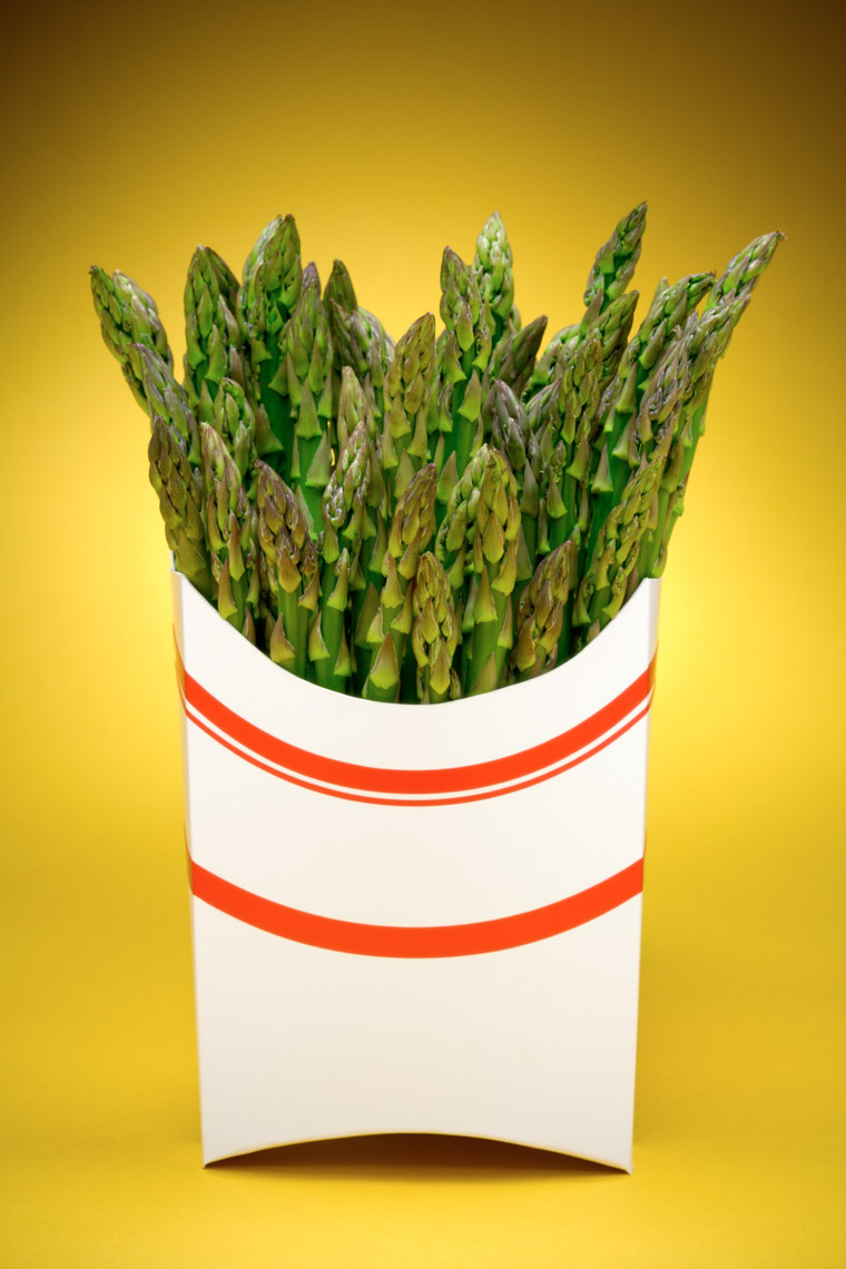 Los Angeles Photographer | Dana Hursey Photography | Conceptual Photography | Asparagus Fries