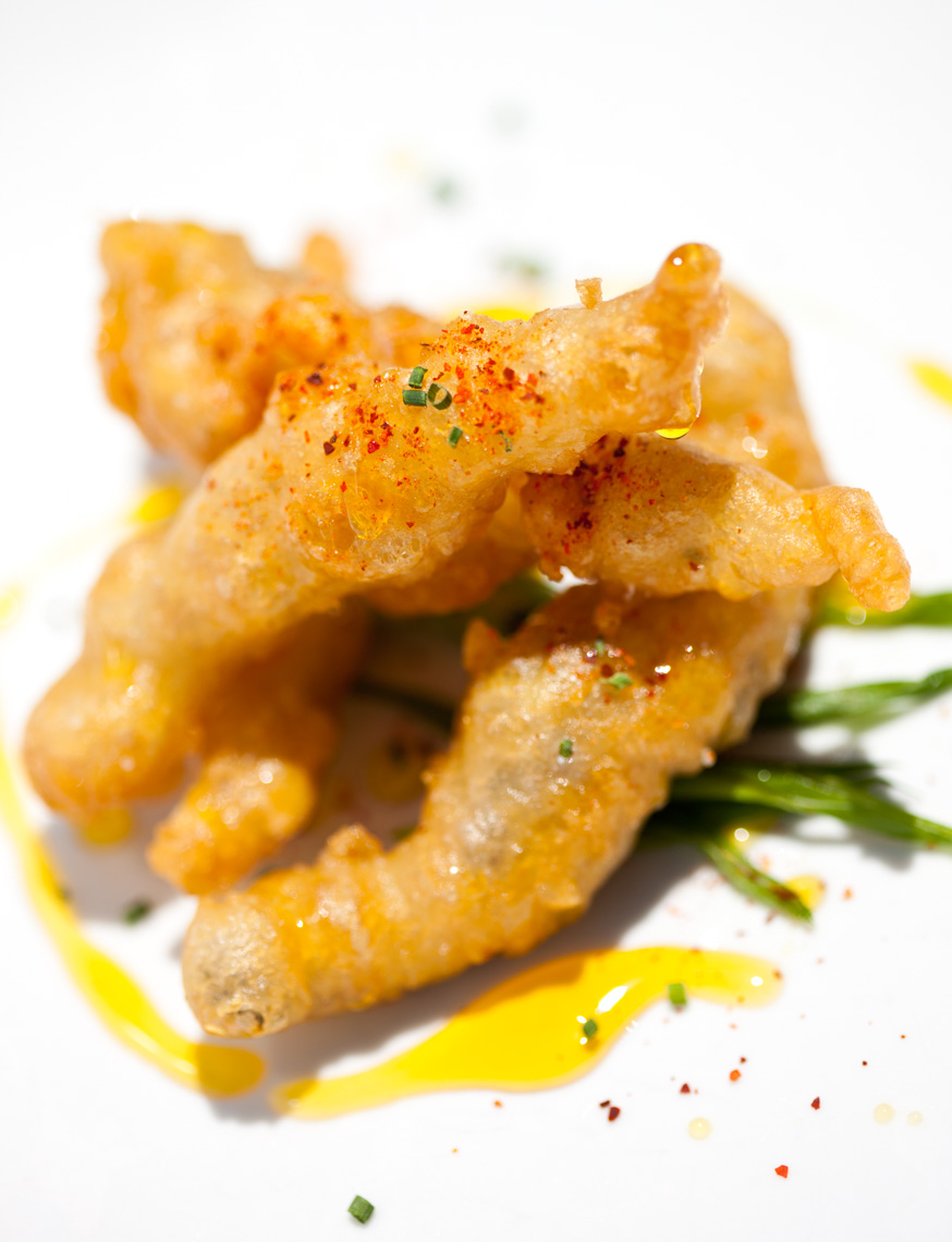 Los Angeles Photographer | Dana Hursey Photography | Food Photography | Lace Battered Anchovies