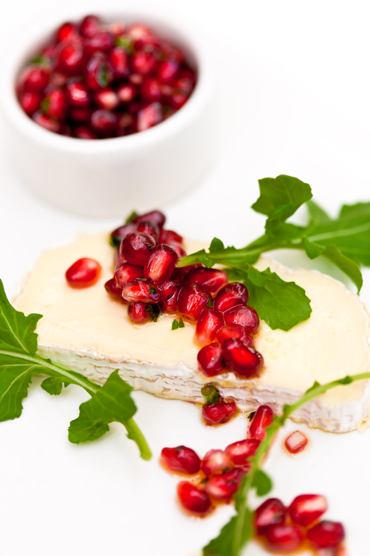 Los Angeles Photographer | Dana Hursey Photography | Food Photography | Pomegranate Salsa on Brie
