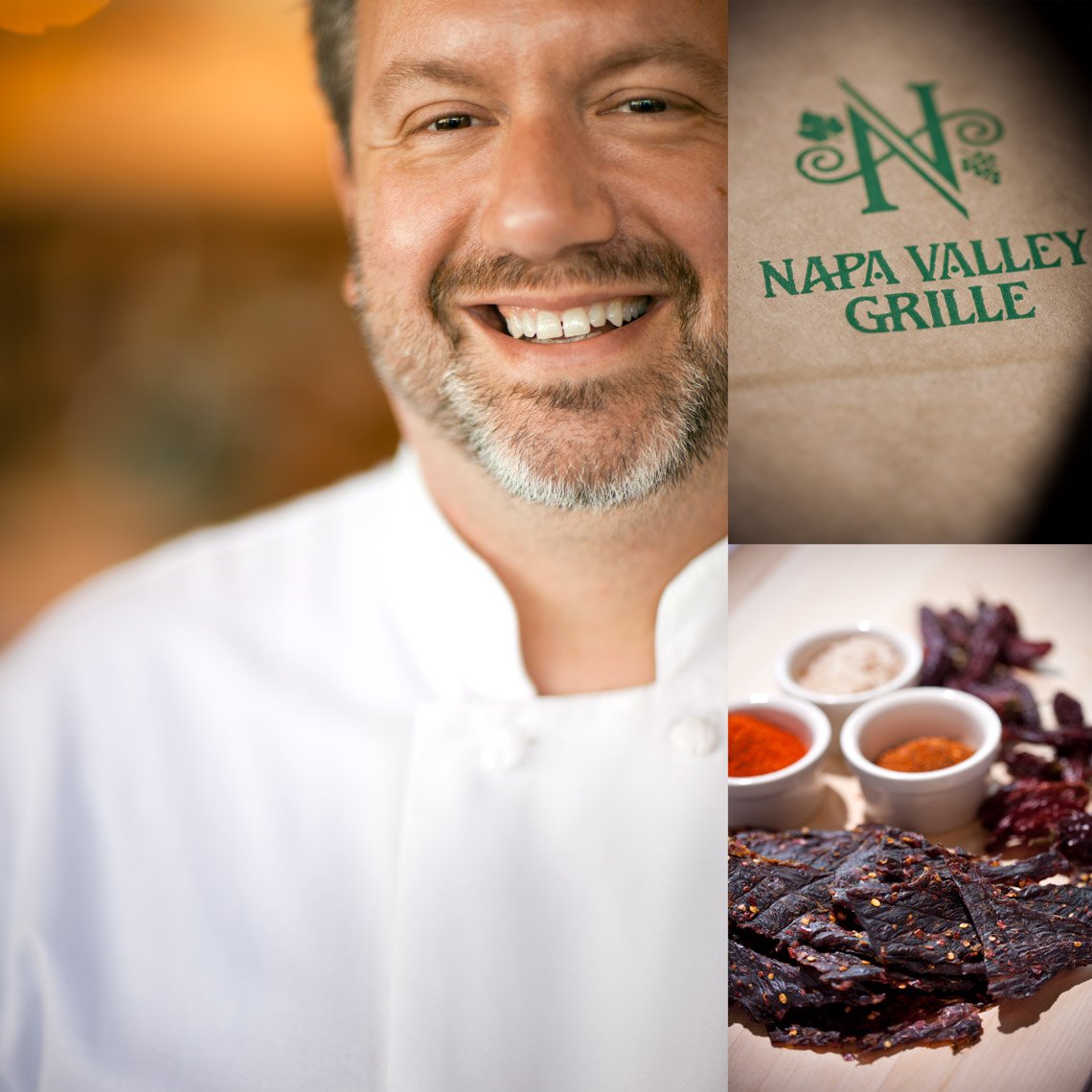 Los Angeles Photographer | Dana Hursey Photography | Top Chef Photography | Joseph Gillard - Napa Valley Grille