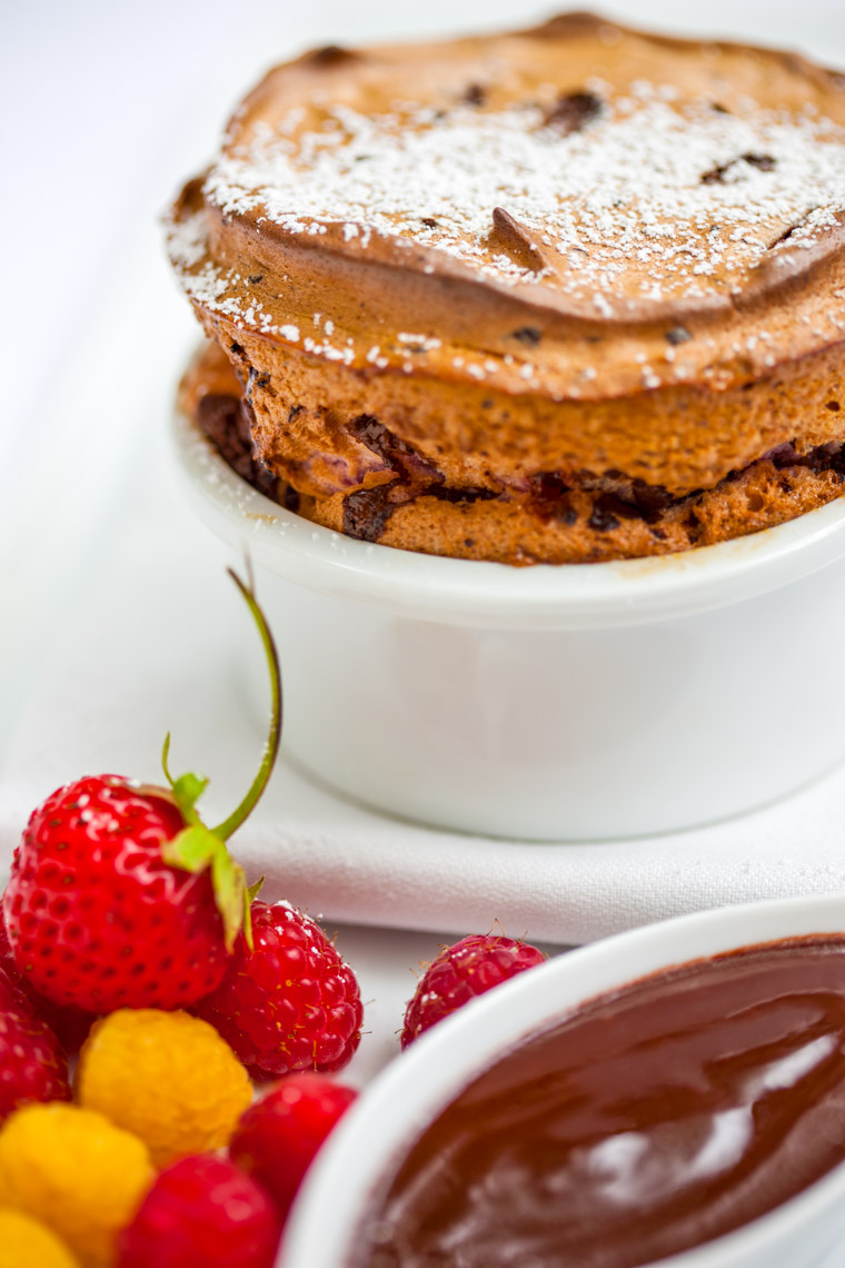 Los Angeles Photographer | Dana Hursey Photography | Food Photography | Chocolate Raspberry Soufflé