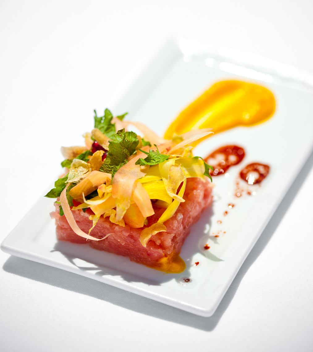 Los Angeles Photographer | Dana Hursey Photography | Food Photography | Albacore Tartare