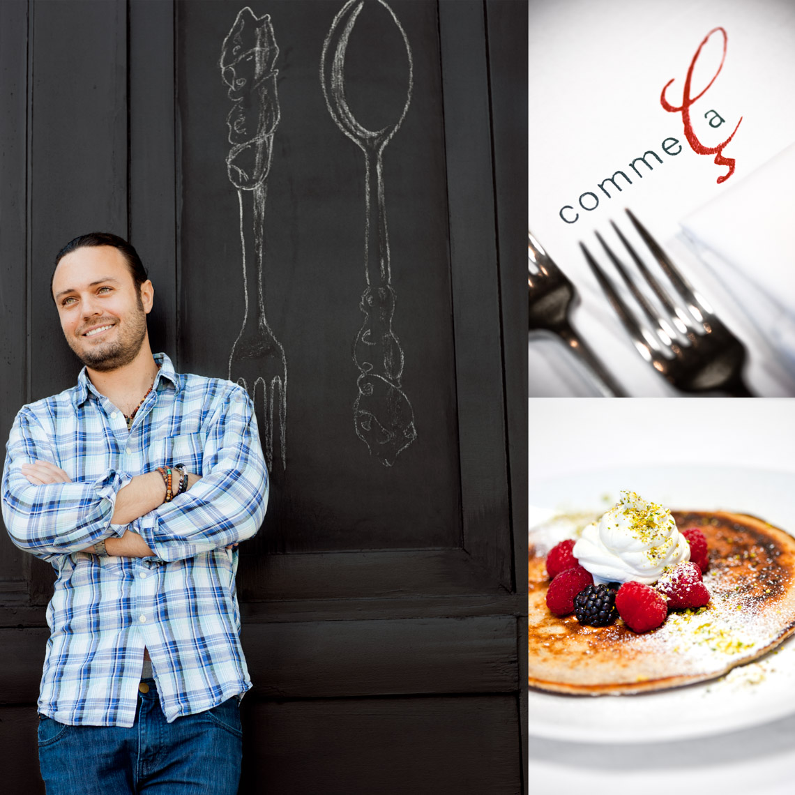 Los Angeles Photographer | Dana Hursey Photography | Top Chef Photography | David Myers - Comme Ça
