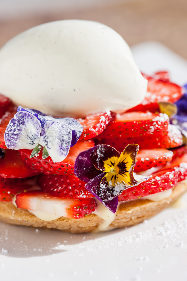 Los Angeles Photographer | Dana Hursey Photography | Food Photography | Strawberry Tart