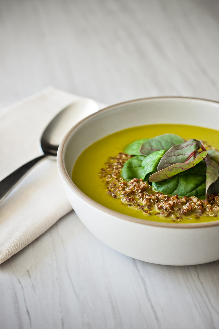 Los Angeles Photographer | Dana Hursey Photography | Food Photography | Spinach Soup