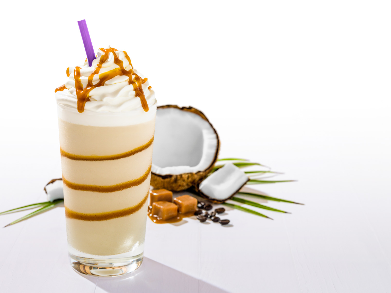 Los Angeles Photographer | Dana Hursey Photography | Beverage Photography | Coconut Caramel Ice Blended