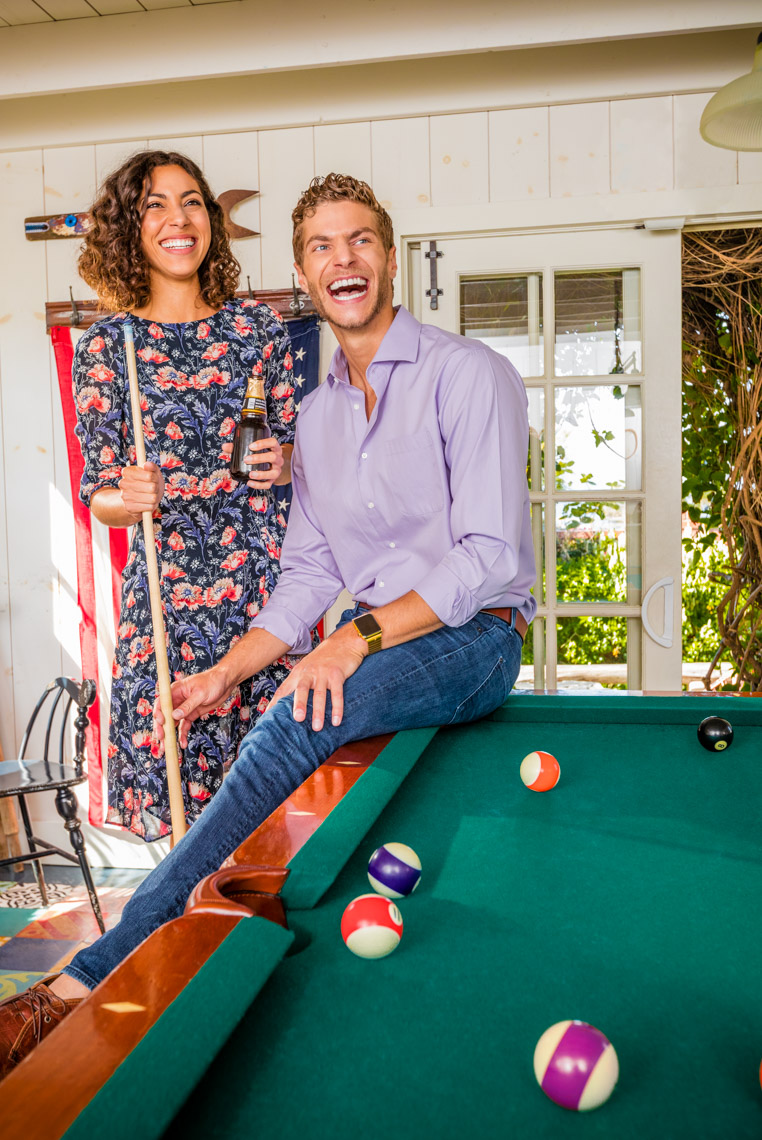 Los Angeles Photographer | Dana Hursey Photography | Lifestyle and Healthcare Photography | Billiards at the Bungalow