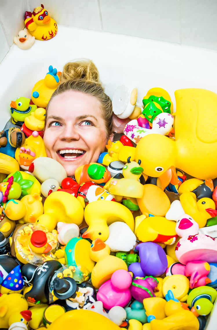 Los Angeles Photographer | Dana Hursey Photography | Quirky Photography | Rubber Ducky Joy