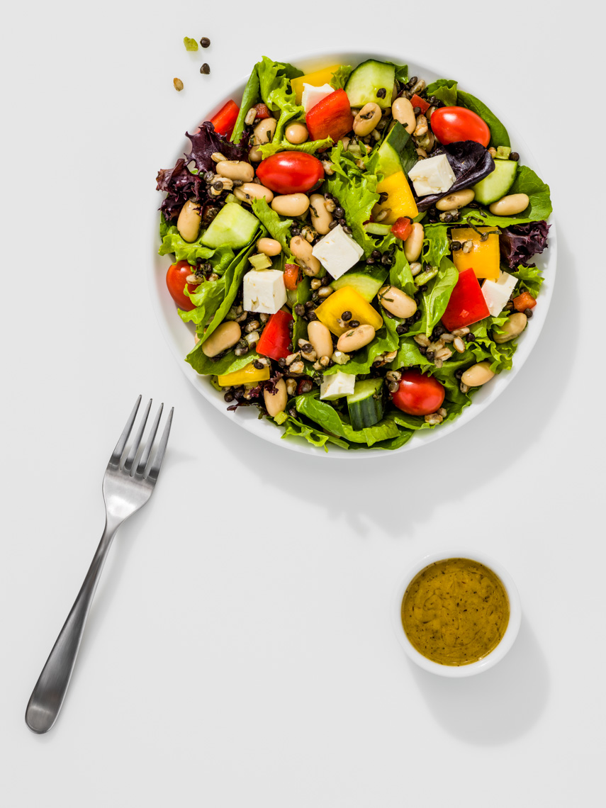 Los Angeles Photographer | Dana Hursey Photography | Food Photography | White Bean and Lentil Salad
