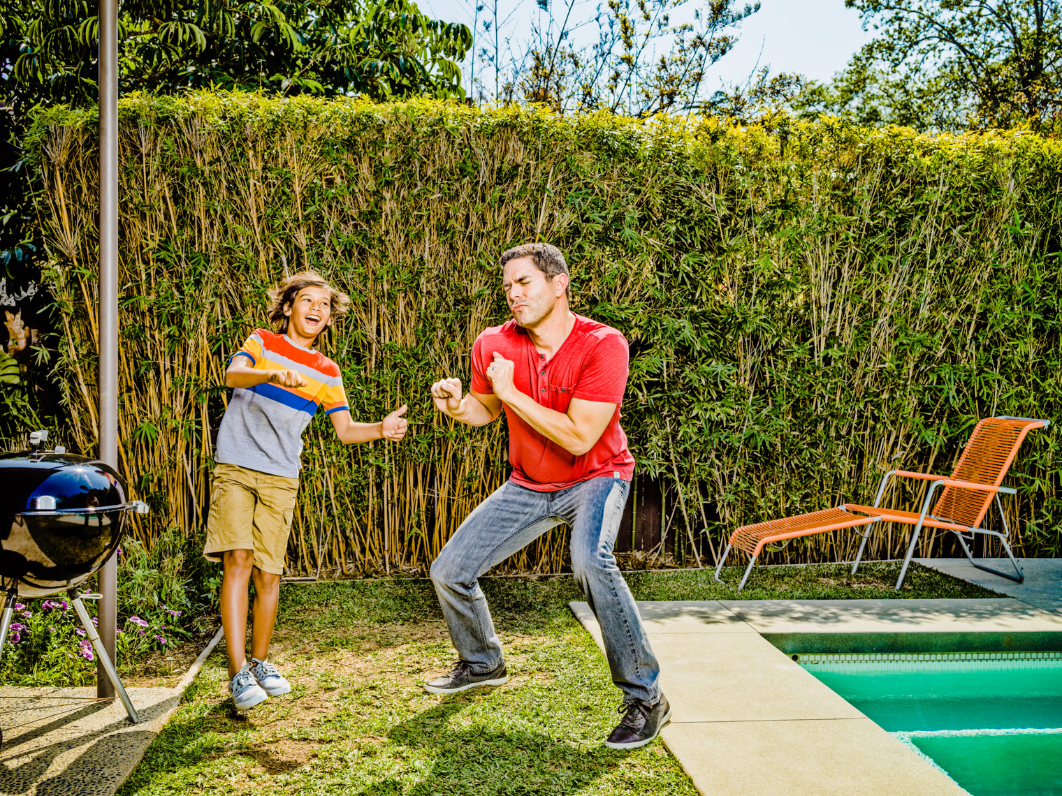 Los Angeles Photographer | Dana Hursey Photography | Quirky Photography | Dance Like a Dad 2