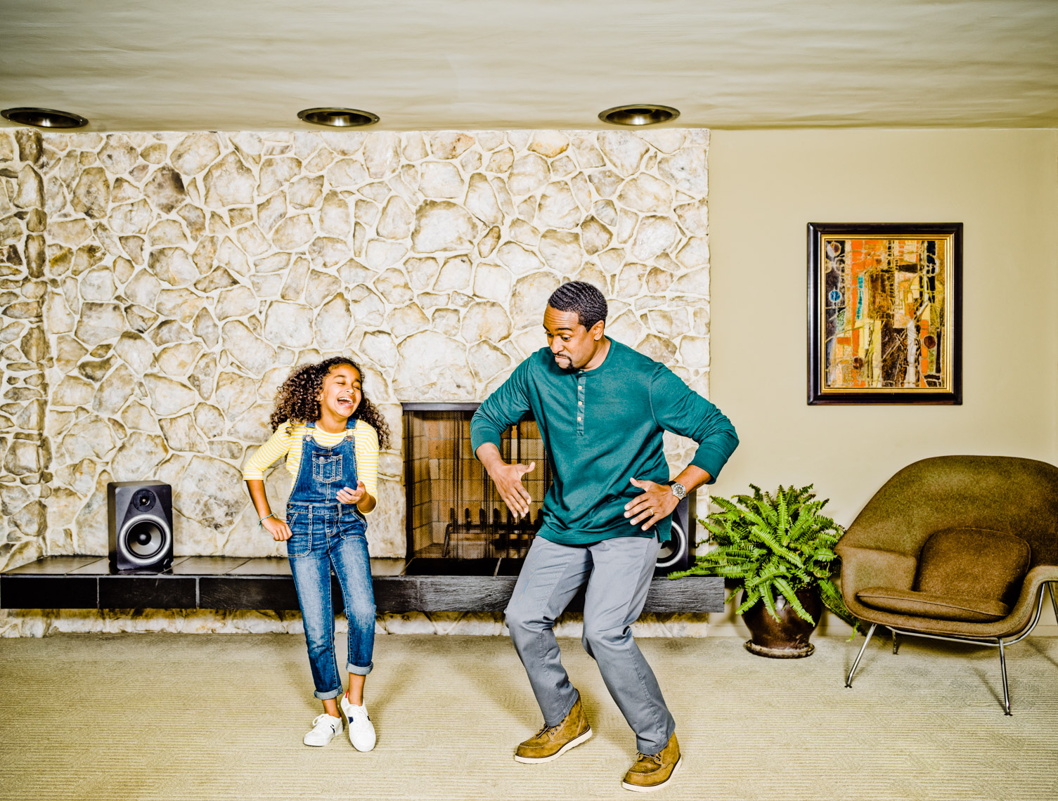 Los Angeles Photographer | Dana Hursey Photography | Quirky Photography | Dance Like a Dad 1