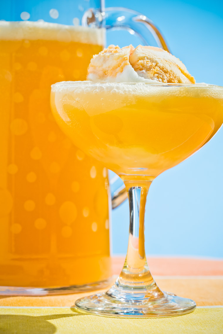 Los Angeles Photographer | Dana Hursey Photography | Beverage Photography | Bubbling Pineapple Punch