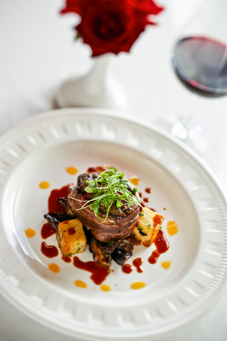 Los Angeles Photographer | Dana Hursey Photography | Food Photography | Bacon Wrapped Filet Mignon