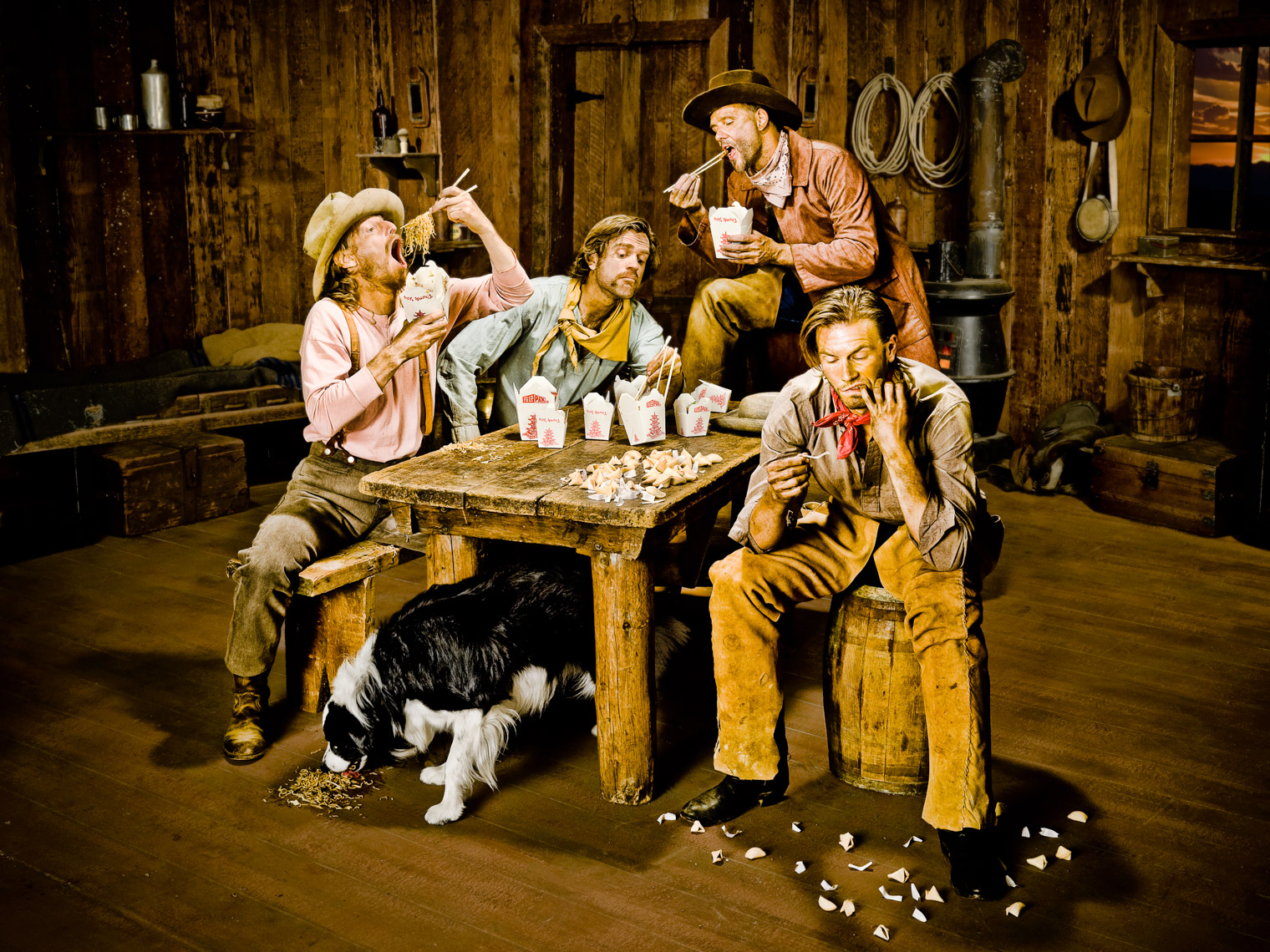 Los Angeles Photographer | Dana Hursey Photography | Conceptual Photography | Cowboy Chow Time