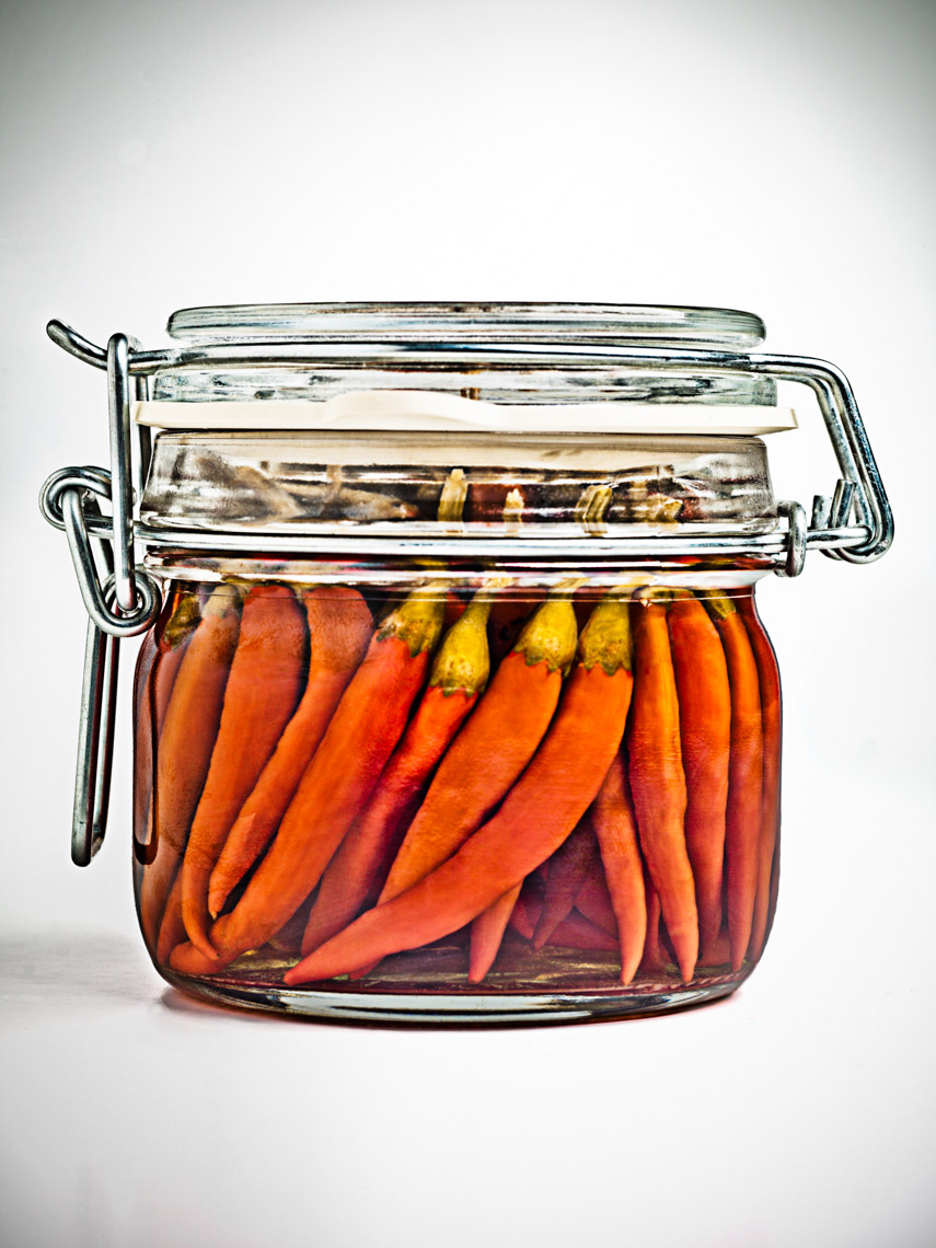 Los Angeles Photographer | Dana Hursey Photography | Food Photography | Jar of Peppers