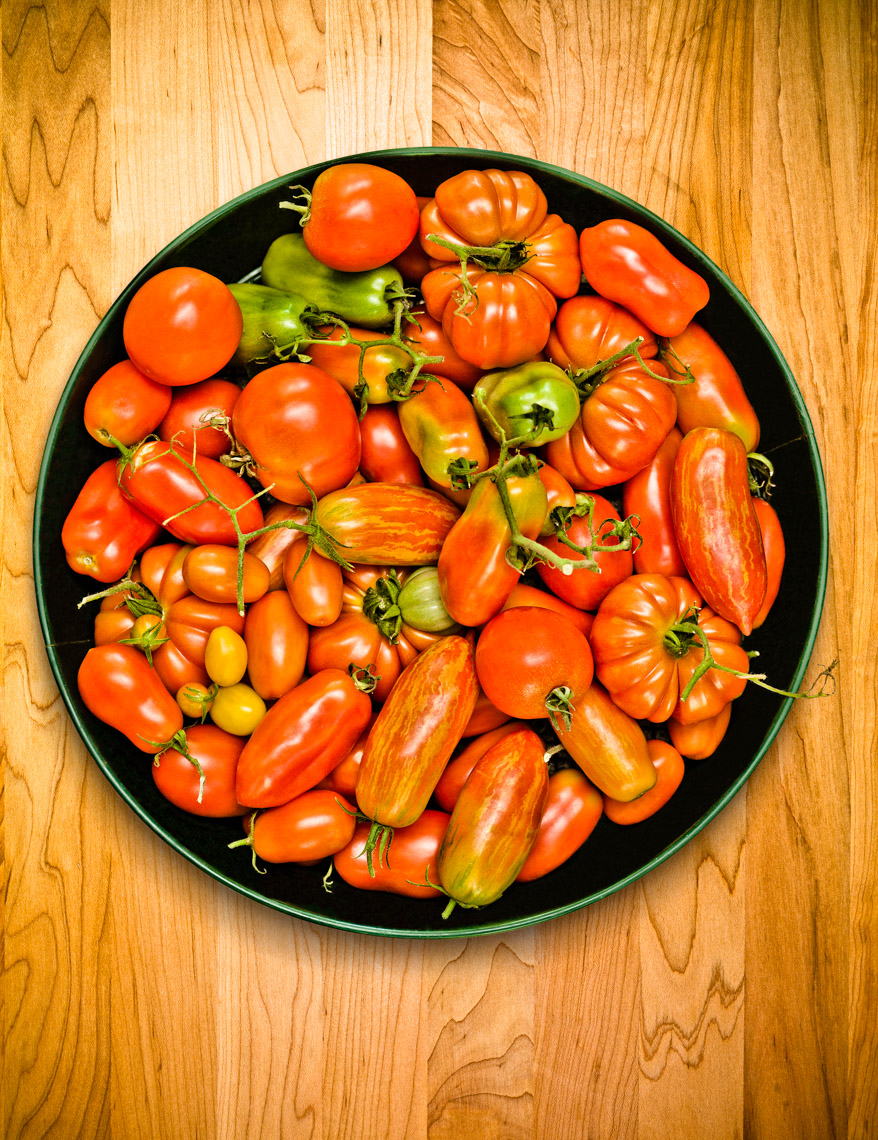 Los Angeles Photographer | Dana Hursey Photography | Food Photography | Tomatoes